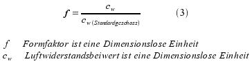Formfaktor Berechnen : wie man die flugbahn von einer gewehrkugel berechnet mit ~ Themetempest.com Abrechnung